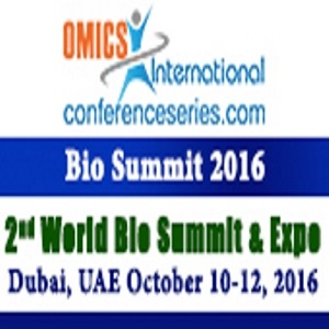 2nd World Bio Summit & Expo during 2016 October 10-12 in Dubai, UAE